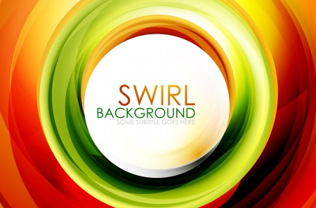 Swirl abstract background Stock Vector - 14314900