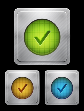 phone button: tick phone button