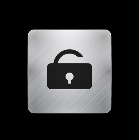 access control: lock phone button