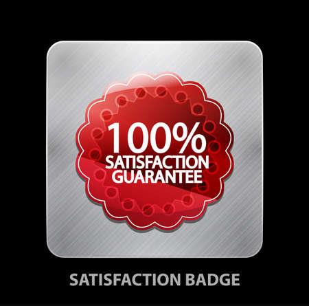Satisfaction app icon Vector