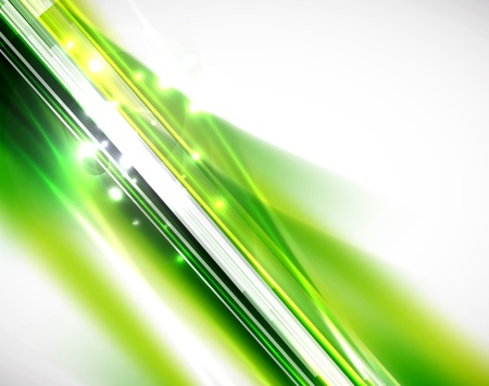 Green lines background Stock Vector - 14634688