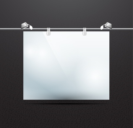detailed illustration of screen for ad illustration