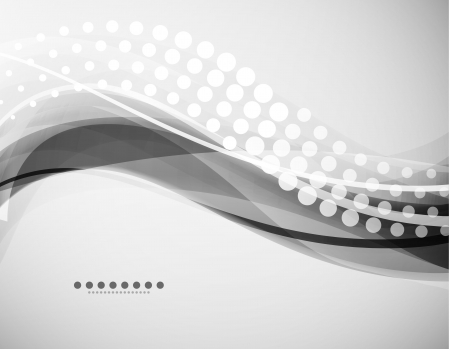 grayscale: Grayscale wave background