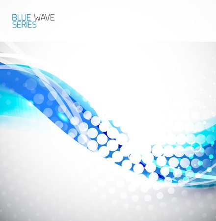 techno background: Abstract wave background