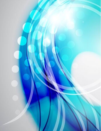 Colorful abstract wave background Stock Vector - 15017412