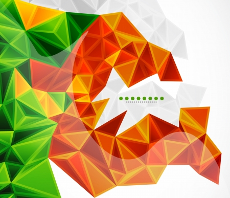 rhombic: Abstract geometric background