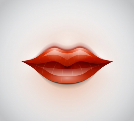 Lips vector background Vector