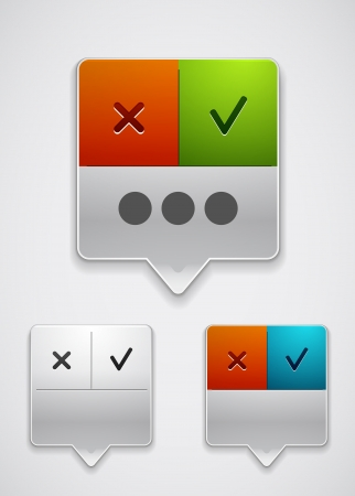 Modern dialog box icon Stock Vector - 15283552