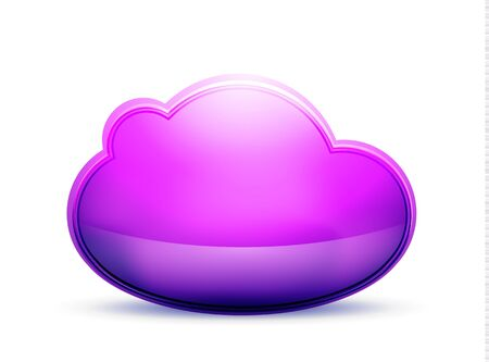 Cloud storage concept Stock Vector - 15372177