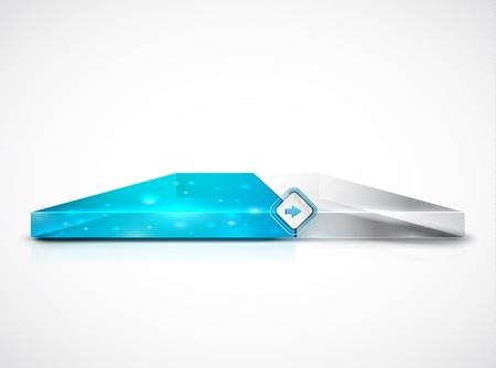 Clean slider   progress bar Stock Vector - 15372217