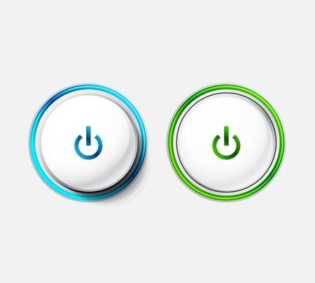 Power button Stock Photo - 15538758