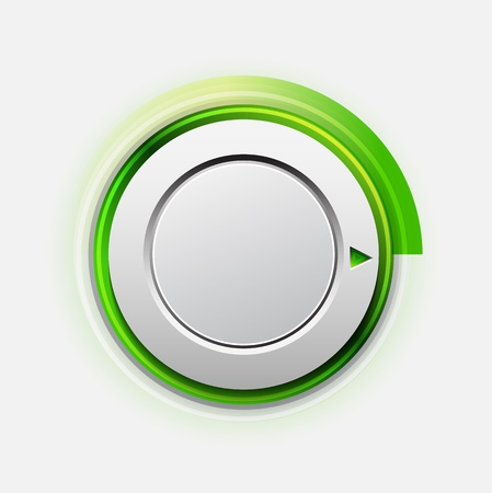 knob switch Vector