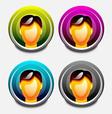 User icon Stock Vector - 15644497