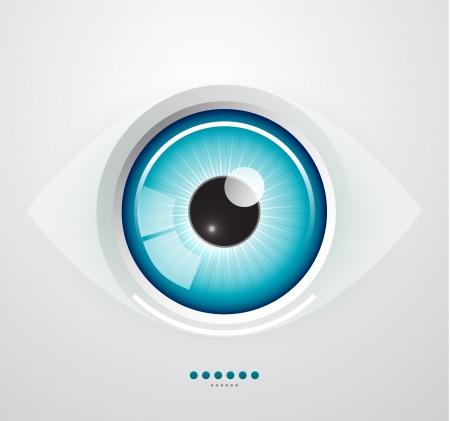 eye ball: Ojo fondo Vectores