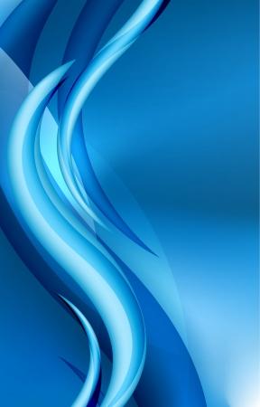 Aqua waves abstract background Vetores