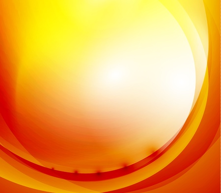 Sunshine orange background Vector