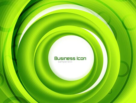 Business ecology swirl concept photo