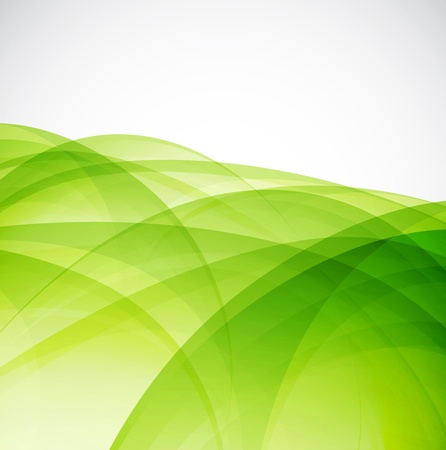 nature backgrounds: Green eco wave