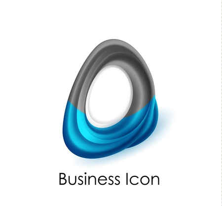 Abstract business icon Stock Vector - 16055323
