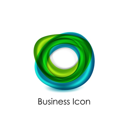 Abstract business icon Stock Vector - 16055376