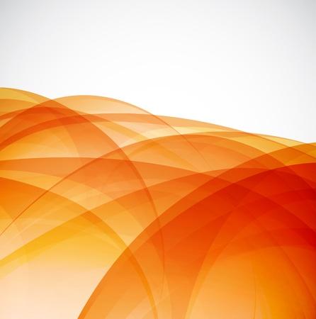 brillante: Sole sfondo arancione