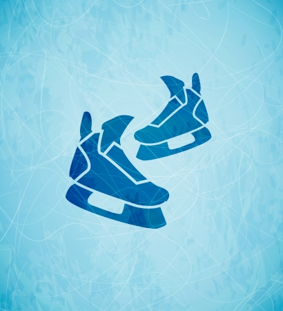 skates background Vector