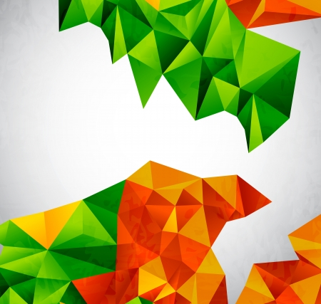 Vector colorful geometrical shapes Stock Vector - 16331039
