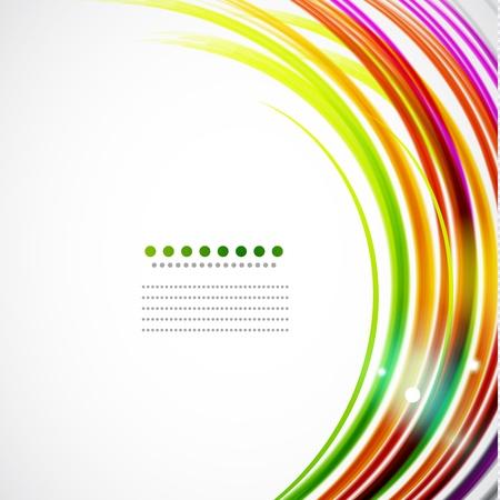 lineas onduladas: Coloridas l�neas onduladas