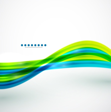 Líneas fluidas fondo abstracto