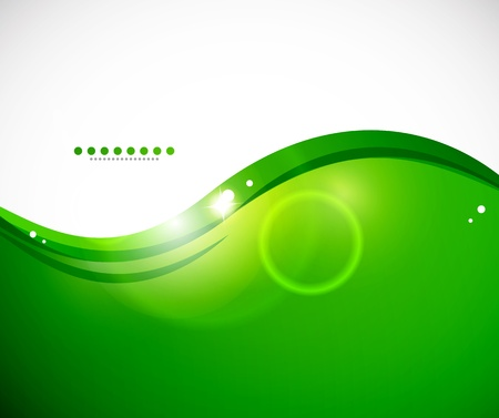 flow of colors: Detailed green abstract background