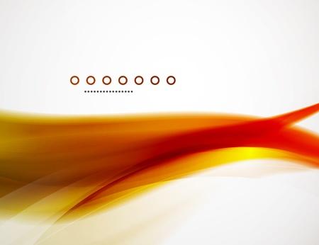 orange swirl: Wave template