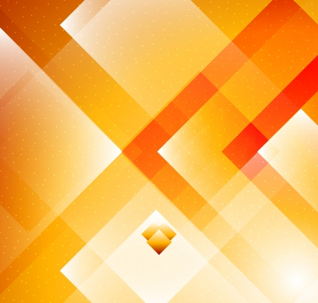 abstract backgrounds: Grometric Orange background Illustration