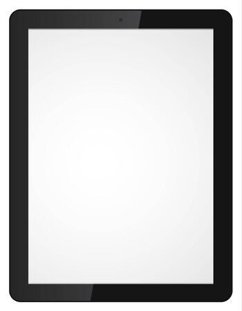 Vector illustration of modern tablet computer Vector