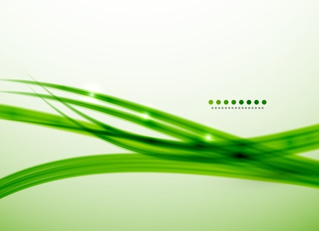 Green lines vector abstract background template photo