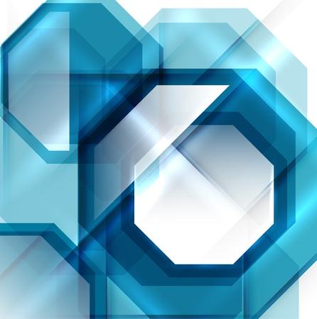 absract: Blu moderno absract sfondo geometrico