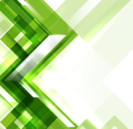 absract: Green modern geometric absract background