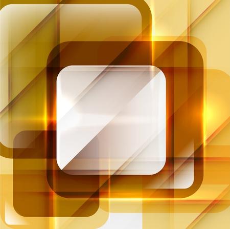 absract: Arancione moderno absract sfondo geometrico Vettoriali