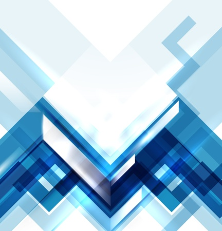 background abstract: Blue modern geometric abstract background