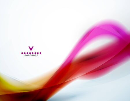 abstract waves: Colorful abstract wave design template