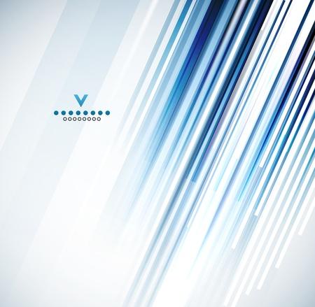 Gerade Linien-Design-Vorlage Vektorgrafik