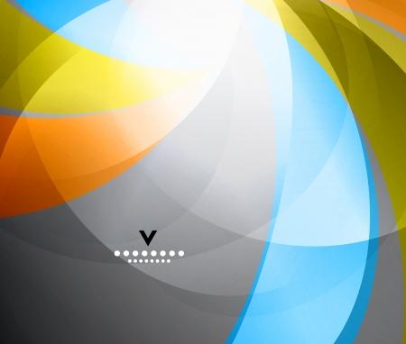 Rainbow shiny abstract design template