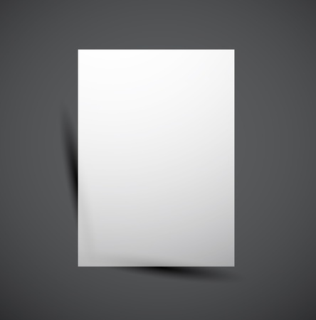 Web box shadow modern design Vector