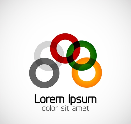 Abstract geometric business symbol Stock Vector - 18681820