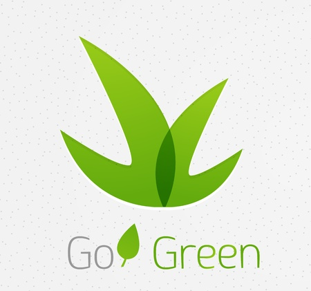 organic background: Green leaf nature concept