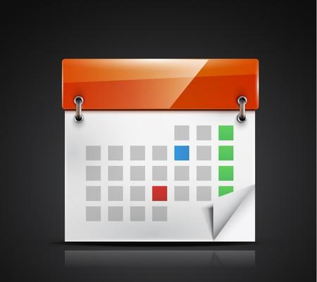 calendar icon Stock Vector - 18789799