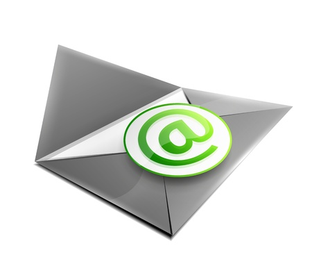 Email concept icon Stock Photo - 18950034