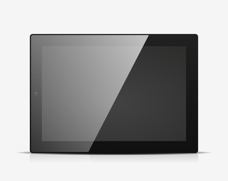 Tablet PC icon Stock Vector - 18950041