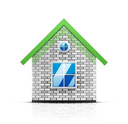 house icon Stock Vector - 18950050