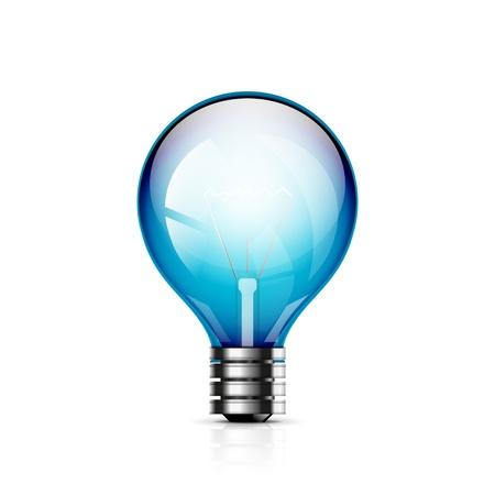 light bulb icon Stock Vector - 19049643