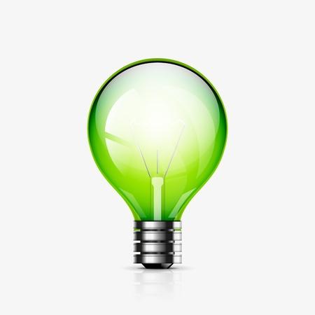 light bulb icon Stock Vector - 19049654
